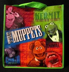 2012 disney store reusable bag muppet cast