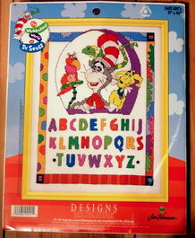 Designs for the needle wubbulous cross stitch abcs