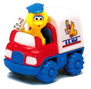 Matchbox big bird mail truck
