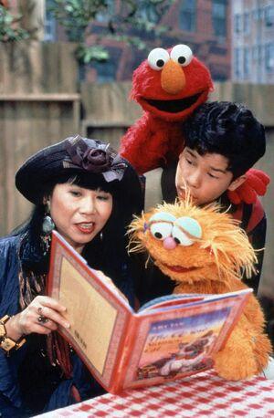Amy Tan Sesame Street