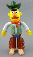 Applause 1992 bert pvc bendable figure