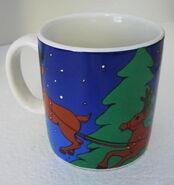 Applause 1998 christmas elmo mug 3