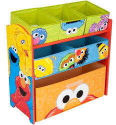 Delta children's products 2011 multi bin toy organizer