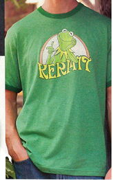 Disney catalog 2005 kermit t-shirt