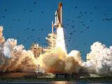 Big Bird on Space Shuttle Challenger