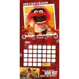 The Muppets Official Calendar 2013 3