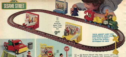 Wind up train 1976 knickerbocker toy