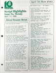 CTW Archives UMD Script Highlights Season 11-12 1411
