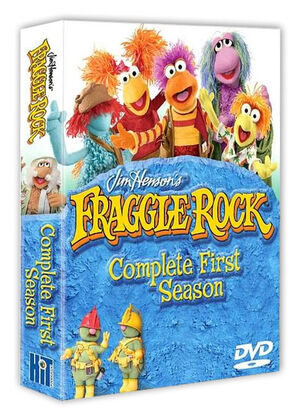 FraggleRockSeason1dvd