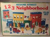 Sesame Street 123 Neighborhood Playset