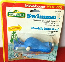 Swimmer cookie mosnter