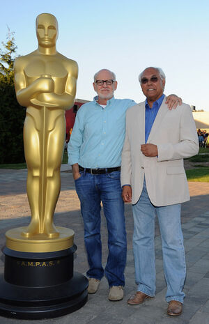Trevor Jones and Frank Oz 2012