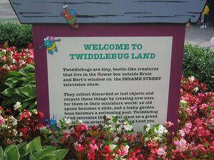 Twiddlebug Land - Sesame Place