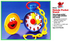 Tyco 1994 melody pocket watch