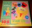 Sesame Street puzzles (Sanrio)