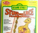 Sesame Street Stuff and Lace pillow kits