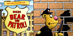 Bear on Patrol - comic Meet the Muppets