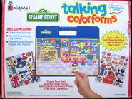 Colorforms 1993 talking set 4