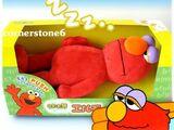 Sleeping Elmo plush