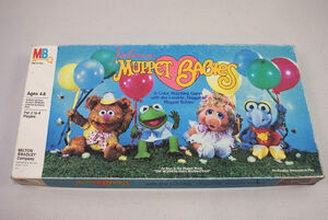 Muppet Babies 1984 board game 01