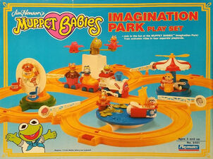 Muppet Babies Imagination Park box front
