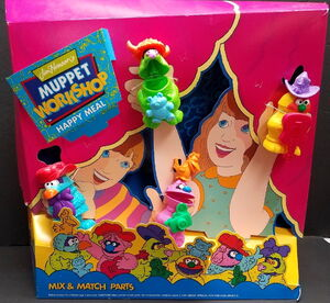Muppet Workshop Happy Meal standee
