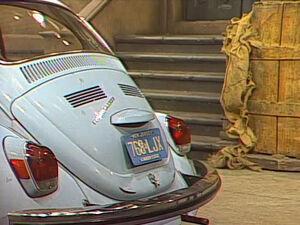 Robinson Volkswagen NJ plates