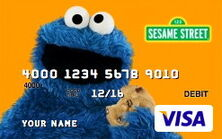 Sesame debit card 10 cookie