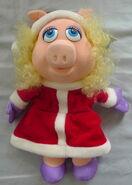 Dakin 1988 miss piggy christmas puppet 1