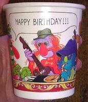 Hallmark 1978 birthday party set cup napkin plate 2