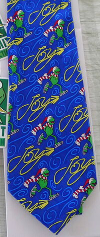 Kermit collection silk tie christmas 1