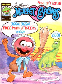 Muppet babies weekly uk 23 april 1987