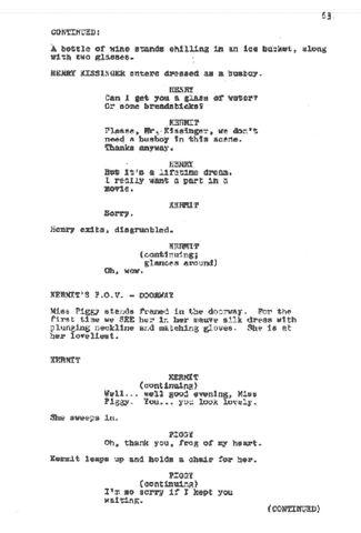 image muppet movie script 063 jpg muppet wiki fandom powered