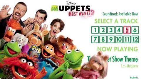 Muppets Most Wanted (soundtrack)