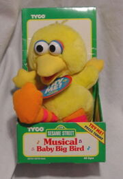 Musical baby big bird