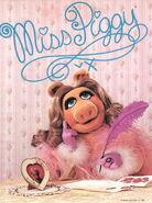 Piggy writing