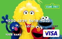 Sesame debit cards 34 cast
