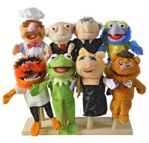Albert Heijn puppets