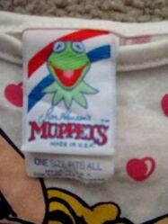 Allison mfg co 1986 muppet collection piggy shirt 4