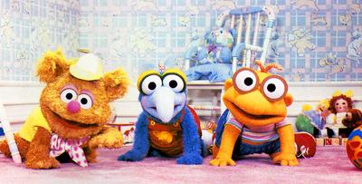 MuppetBabies-FozzieGonzoScooter