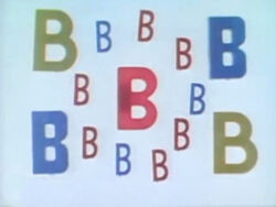 Sesame Street Letters Make Words With B