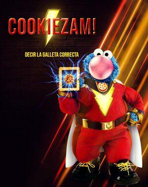 Cookie Monster Shazam