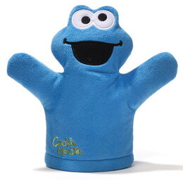 Gund mini puppet cookie monster