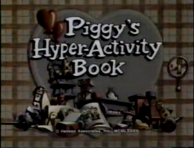 Piggy's Hyper-Activity Book title