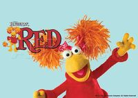 Poster Fraggle Rock-Red