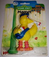Vanderbilt products 1982 magnet big bird 1
