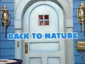 207 Back to Nature