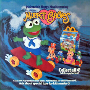 Muppet Babies Happy Meal ad 01