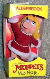 Alderbrook 1987 christmas ornament piggy