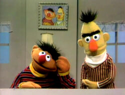 Ernie Has Bert Pretend To Be Mad